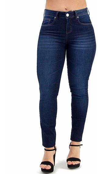 Kit C/7 Calça Feminina Jeans Plus Size Cintura Alta Lycra.