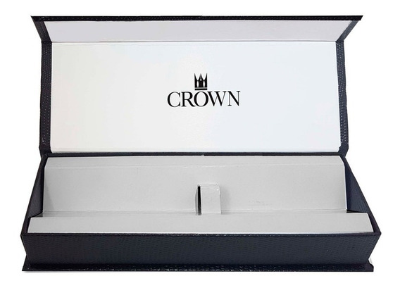 Caneta Crown President - Tinteiro Cor: Dourada