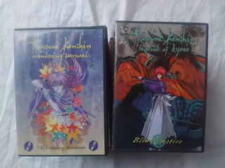 Rorouni Kenshin 20 Dvds Región 1 Inglés Japonés Anime