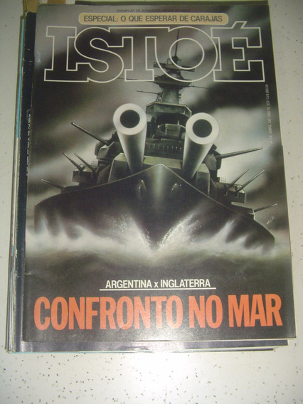 Revista Istoé 277 Malvinas Carajas Sérgio Sampaio Cauby 1982