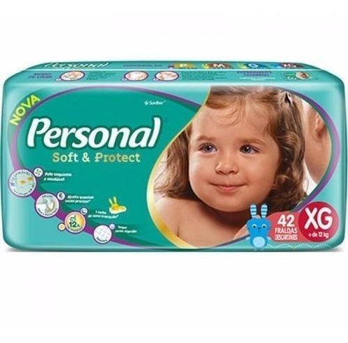 Fralda Personal Soft E Protect Combo C/3 Pct Tamamho Xg