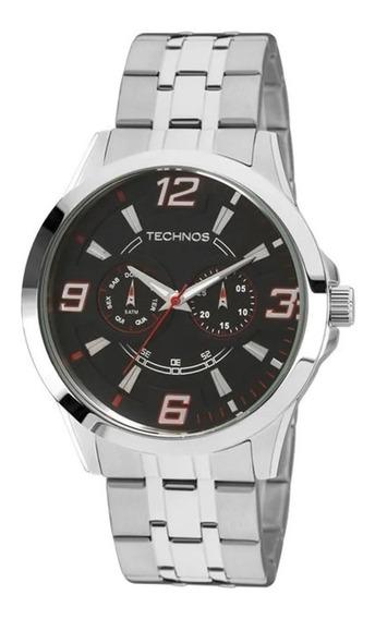 Relógio Masculino Analógico Technos 6p25am/1r Performance