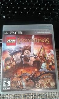 Ps3 Lego Lord Of Rings (juego Físico, Usado, Original)