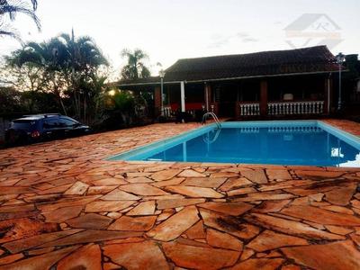 Chácara Com 2 Dormitórios À Venda, 1149 M² Por R$ 300.000 - Portal São Marcelo - Bragança Paulista/sp - Ch0003