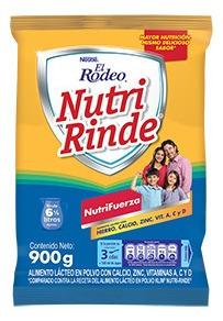 Leche El Rodeo Nutri Rinde X900 G