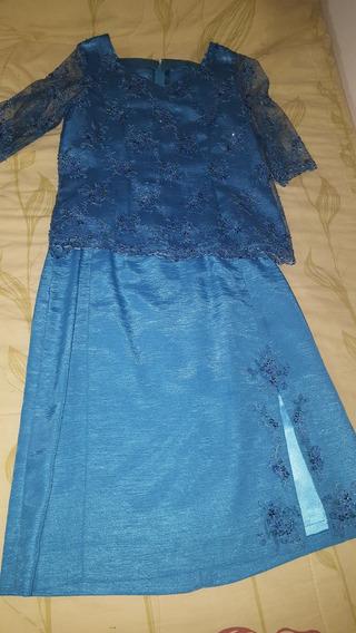 Vestido De Fiesta De Dos Piezas