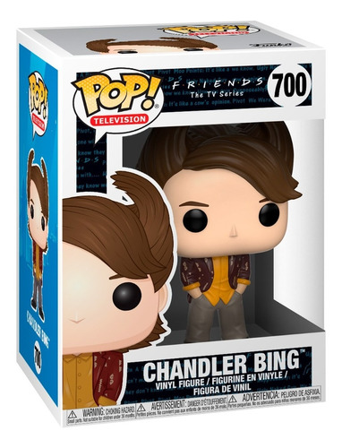 Funko Pop Television: Friends - 80's Hair Chandler