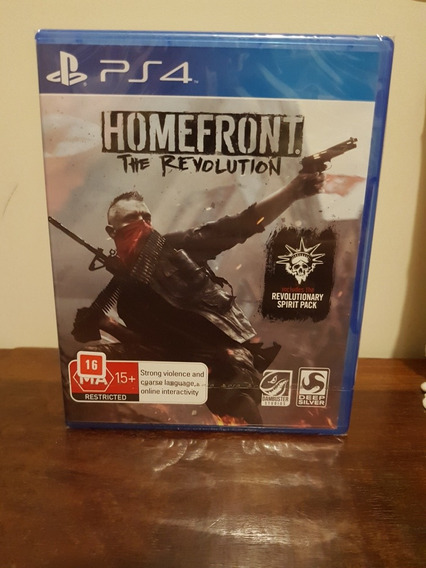 Homefront The Revolution Ps4 Midia Fisica Lacrado