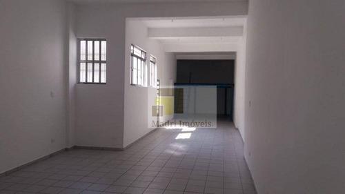 Imagem 1 de 17 de Galpão Para Alugar, 96 M² Por R$ 4.000/mês - Vila Romana - São Paulo/sp - Ga0080