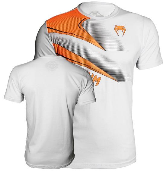 Camiseta Branca Venum New Blade Branco/laranja