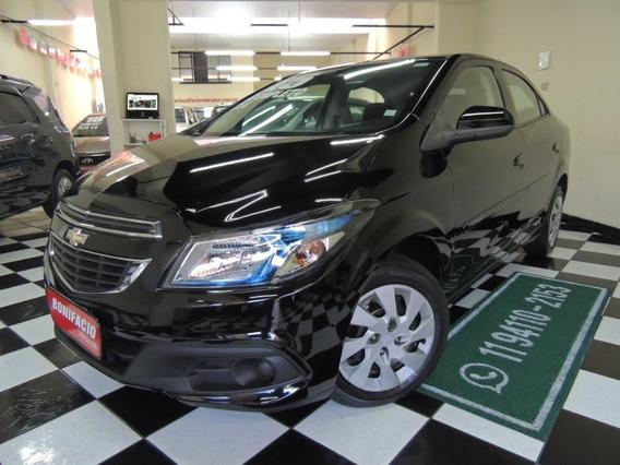 Chevrolet/ Prisma Lt1.4- Flex - Preta- Completo-2015