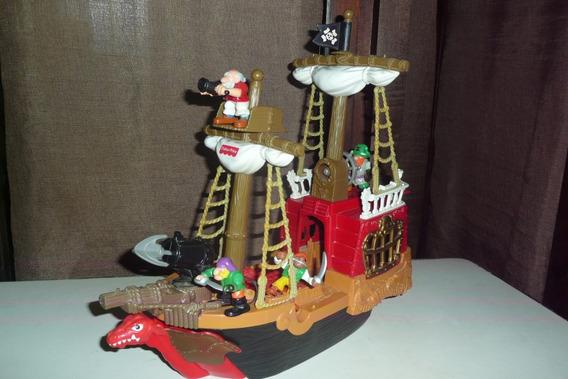 Barco Pirata De Fisher Price