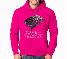 Moletom Game Of Thrones Lobo Blusa De Frio Casaco