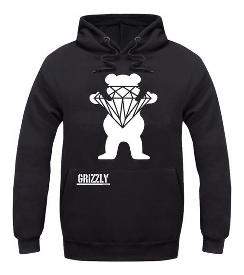 Moletom Diamond Grizzly -promoção Ótima Qualidade