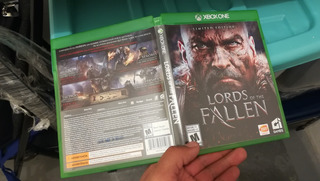 Lords Of The Fallen Xbox One Usado, Impecable
