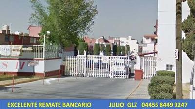 Edo Casa Villa De Las Flores * Remate Bancario*