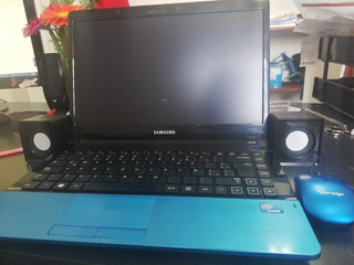 Laptop Samsung Np300e4c Azul Intel Celeron 2gb Ram