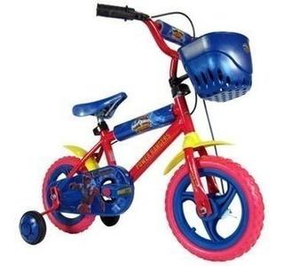 Bicicleta Rod 12 Power Ranger Rodado 12 Unibike 3041