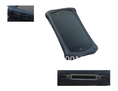 Liquidación Carcasa Bumper De Silicona Para Iphone4 Mp3 Mp4