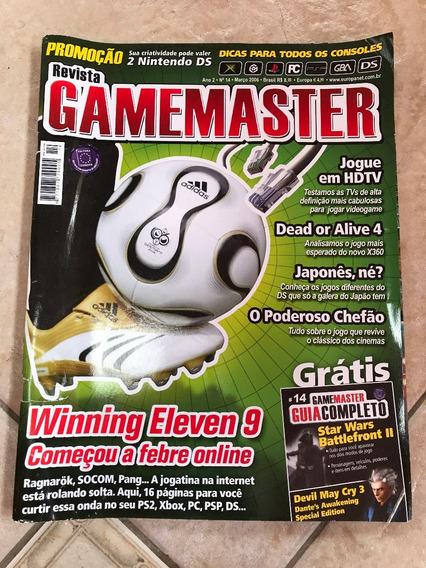 Revista Gamemaster 14 Winning Eleven 9 Dead Or Alive 4 F784