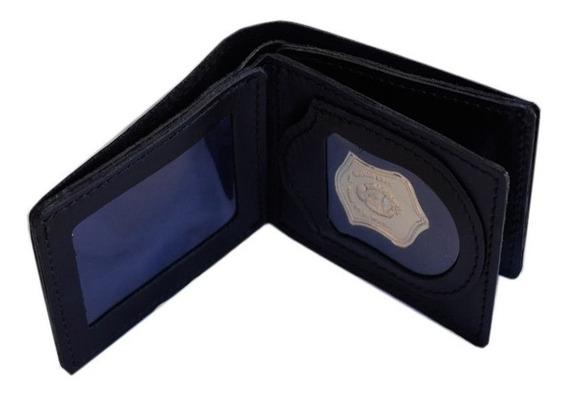 Porta Credencial Billetera Premium Policía Gendarmeria Psa