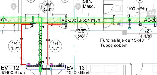 Imagem 1 de 10 de Projetos De Ar Condicionado E Ventilação Mecânica