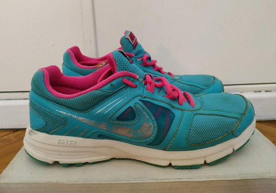 Nike Air Relentless 3 Turquesa Y Rosa