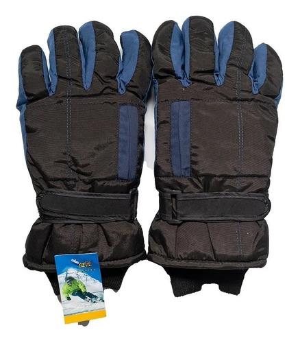 Guantes Nieve Ski Snow Frio  Impermeables Oferta Hombre