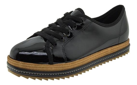 Sapato Feminino Verniz/preto Beira Rio - 4196203