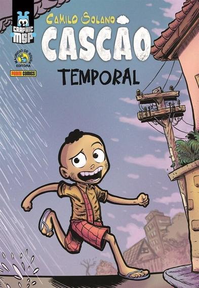 Graphic Msp: Cascão - Temporal - Capa Cartão