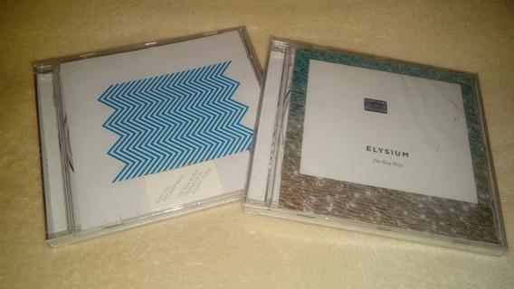 Pet Shop Boys 2 Cd: Electric + Elysium (nuevos, Sellados) *