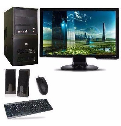 Imperdível Pc Completo Core I5 8gb+hd 1tb +monitor Lcd 19