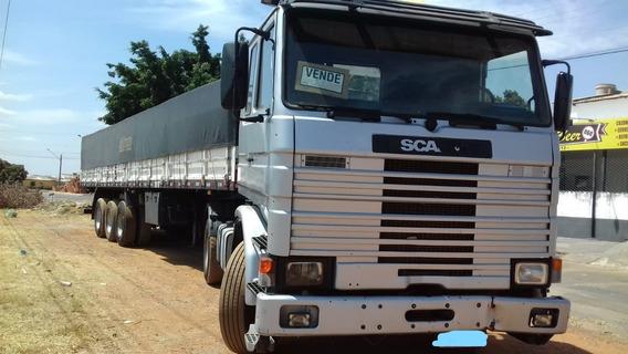 Scania 113 360 6x2 + Carreta Ls Graneleira