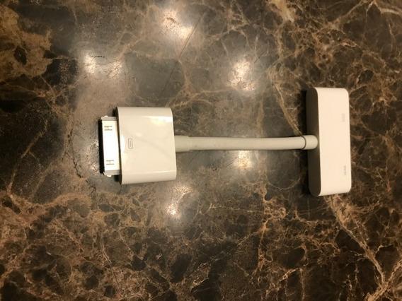 Apple Adaptador 30-pin Hdmi Digital Av Adapter Branco A1388
