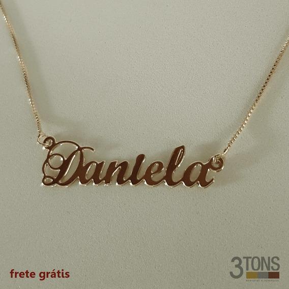 Corrente Com Nome Personalizado - Daniela