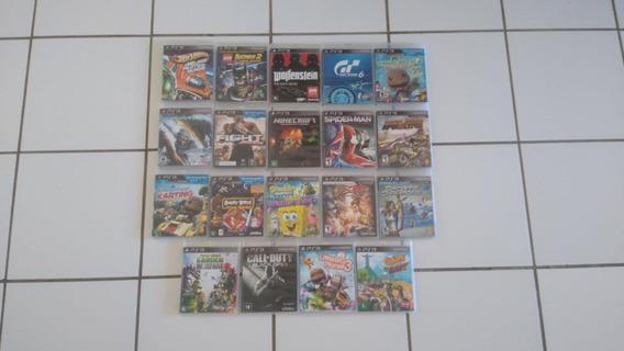 18 Jogos De Playstation 3 - Excelente Estado