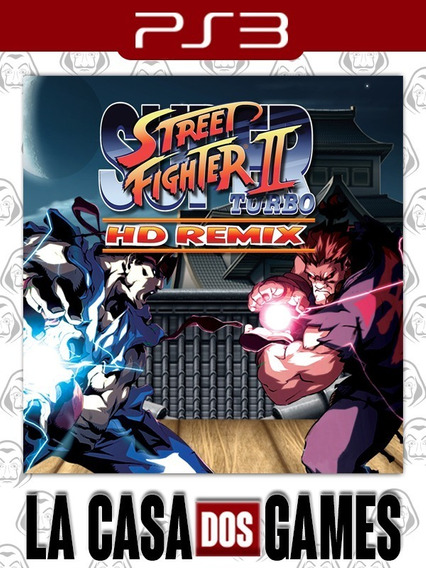 Super Street Fighter® Ii Turbo Hd Remix - Psn Ps3 - Envio Ja