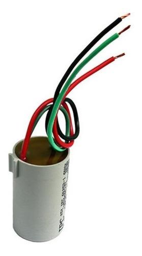 Capacitor 3 Fios 4 Uf + 6 Uf P/250 Vac Ventilador De Teto