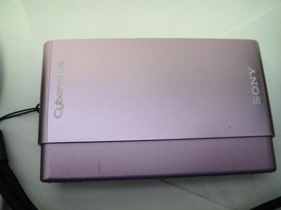 Camera Digital Sony Cyber Shot Dsc-t77 Touchscreen - Rosa