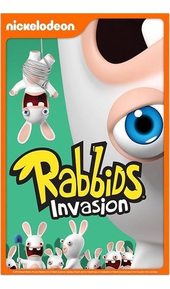 Rabbids Invasión: Kid 15 Capítulos En Español Mexico