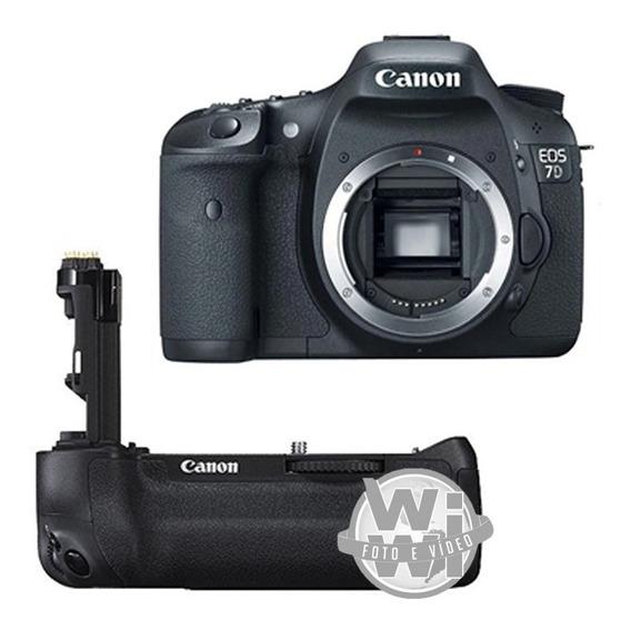 Canon Eos 7d + Grip Bg-e7 (usado)