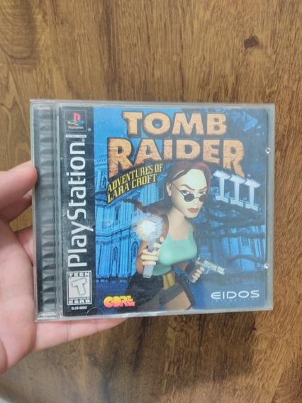 Tomb Raider 3 Psone Original