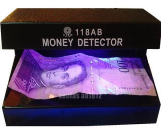 Maquina Detector De Billetes Falsos C/ Luz Ultravioleta 220v