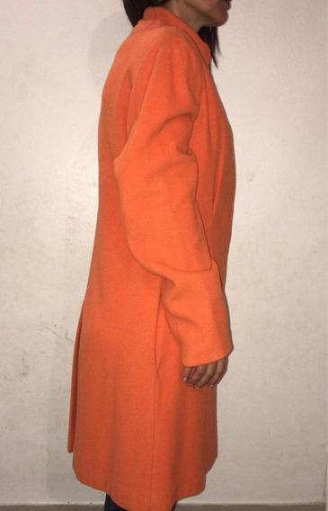 Vendo Abrigo De Invierno Color Naranja Muy Elegante