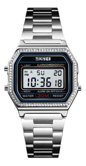 Luxo Impermeável Relógio Digital Data Cronômetro Esportes