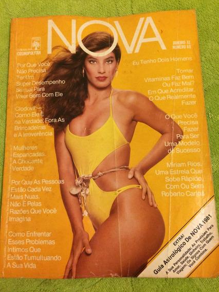 Revista Nova 01/81 Lilian S Miriam R Clodovil Luiza Brunet