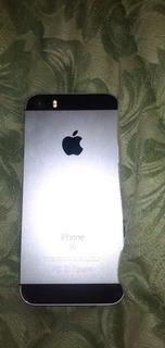 iPhone SE Semi Novo 32 Gb Cinza Usado Sem Fone