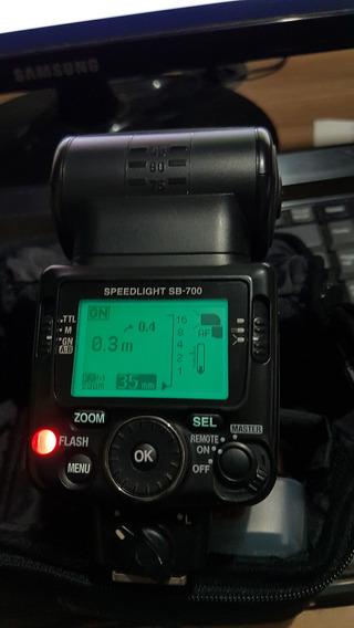Flash Nikon Sb-700 - Speedlight Original Semi-novo