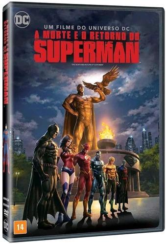 Imagem 1 de 1 de A Morte E O Retorno Do Superman - Dvd - Jerry O'connell