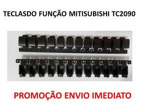 3x Peças Teclado Funçao Tv Mitisubishi Tc2090 Envio Imediato